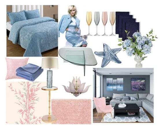 """Friday's Daily Finds"" by nefertiti1373 ❤ liked on Polyvore featuring interior, interiors, interior design, home, home decor, interior decorating, Cole & Son, LSA International, Caravan and Lalique"