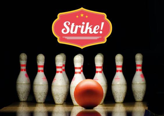 Strike! | Statements | Echte Postkarten online versenden | MyPostcard.com