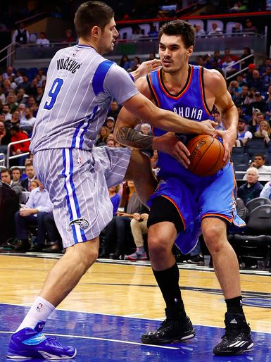 pretty nice bfde6 69d6d Steven Adams - Adidas Crazylight Boost  Whos Wearing What