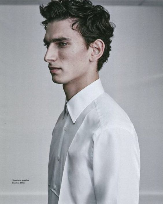 A new take on the BOSS Menswear white shirt as seen in the men's special edition of Les Echos Série Limitée #thisisboss - Shop now for hugoboss > http://ift.tt/1Ja6lvu