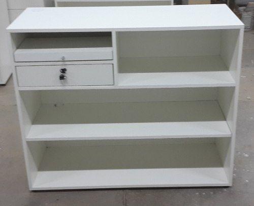 mueble mostrador caja de 1 00 x 1 00 x 0 40 mts muebles negocio