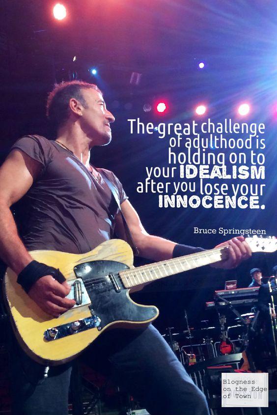 More Bruce Springsteen Wit & Wisdom.