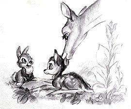 バンビととんすけと母