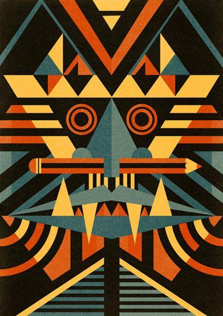 Masks. Courtesy of the artist, Ben Newman, 2011.