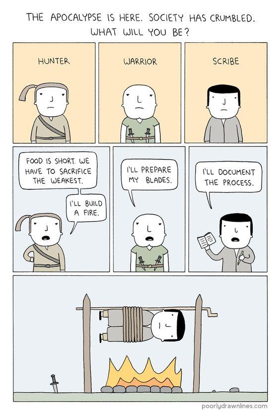 The Apocalypse Is Here! #apocalypse #comics #humor #funny #geek #lol #drama #cartoons