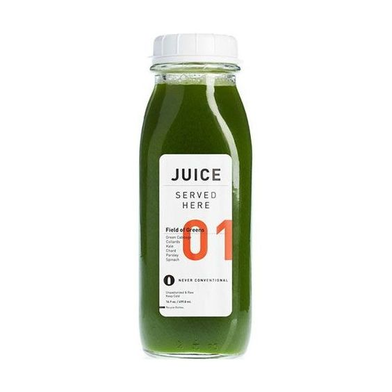 01 Field of Greens JUICE SERVED HERE ❤ liked on Polyvore featuring food, drinks and filler
