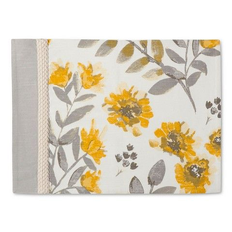 Threshold ™ Floral Placemat - Yellow