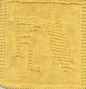 Knitted Dishcloth Patterns States : Free Knitting Pattern - Dishcloths & Washcloths : Patterns for all 50 sta...