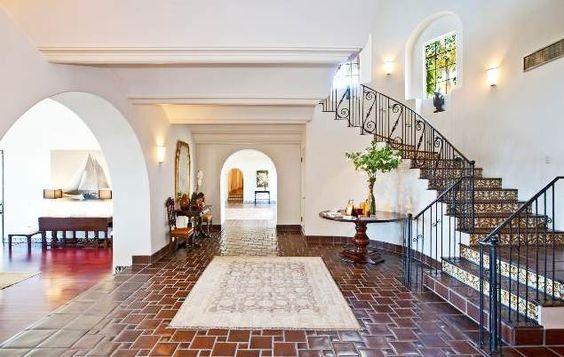 glazed Saltillo tile floor