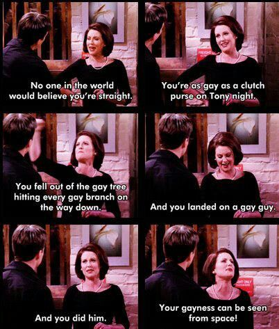 Karen And Jack Will And Grace