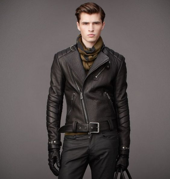 MEN | KENDAL JACKET | Belstaff. Nice Asymmetrical zip leather ...