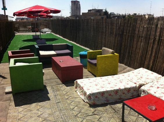 Rooftop Chill-out Area