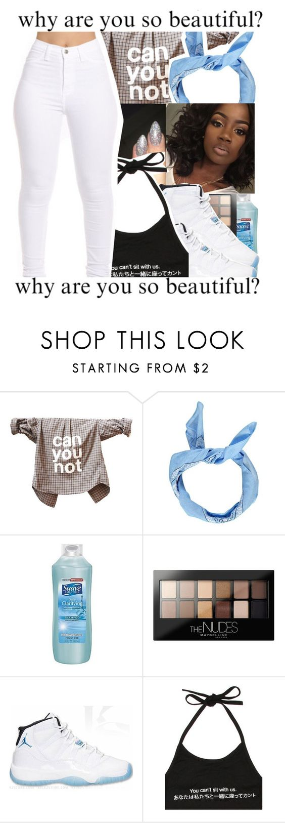 """: thirty :"" by tynescloset ❤ liked on Polyvore featuring Boohoo, Suave, Maybelline, Retrò and O-Mighty"
