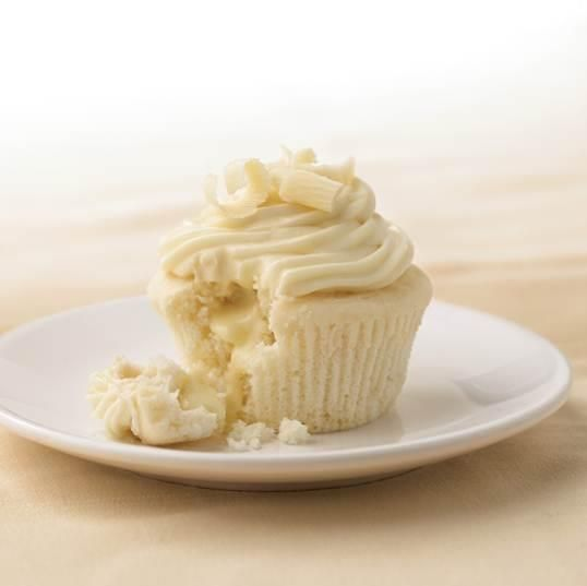 White Chocolate Cupcakes with Truffle Filling INGREDIENTS Cupcakes 1 3 ...
