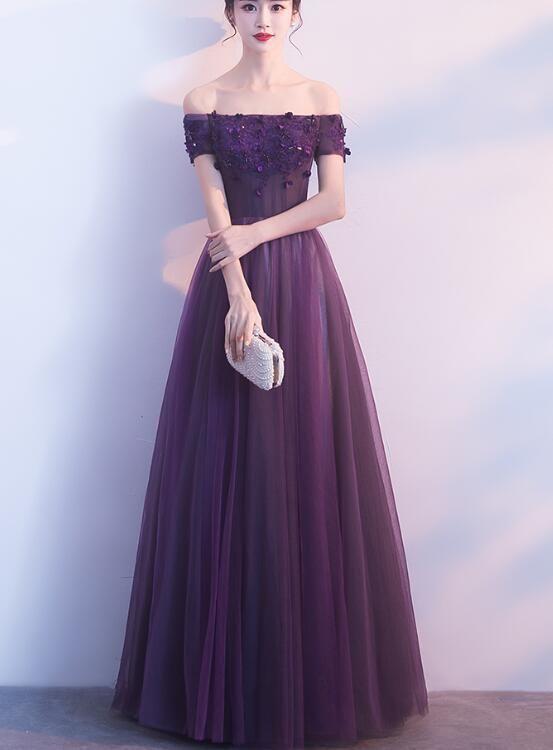 42+ Purple dress formal information