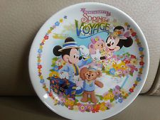 Disney Mickey Minnie Mouse Sea Bear Duffy & ShellieMay Dish Japan NEW RETIRED