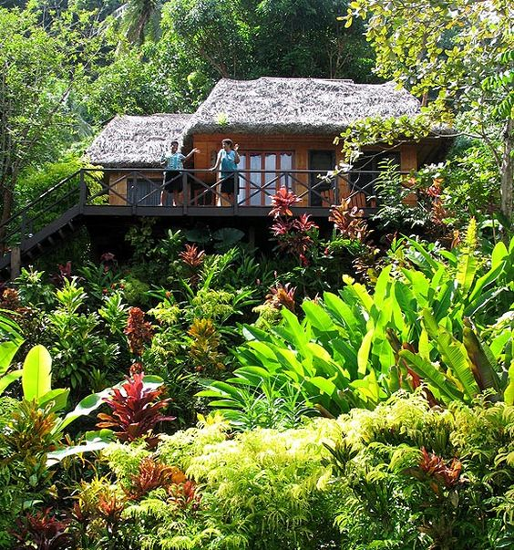 How cute is this resort in Fiji!