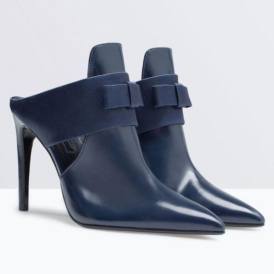 Dark navy blue, Bow heels and Gov't mule on Pinterest