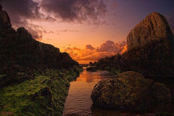 Playa de Las Furnas A Coruña #Galicia 10 rincones secretos de España que (seguramente) no conoces