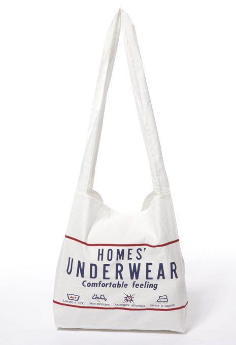 【HOMES' UNDERWEAR】ショッピングバッグ