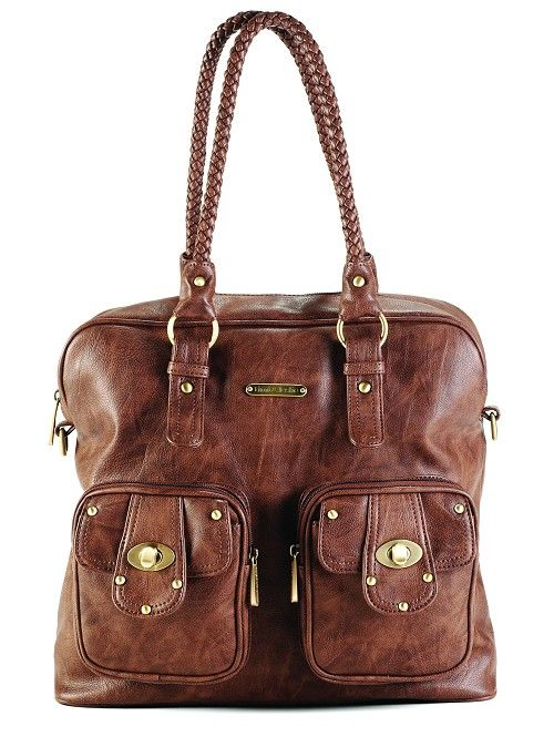 Timi and Leslie Rachel Diaper Bag Caramel 'Jessica Alba baby bag.' $159.99.....LOVE this color! I've owned both Petunia Pickle Bottom & Timi and Leslie diaper bags. Hands down Timi and Leslie is the best! Plus it doesn't look like a diaper bag!! -AB