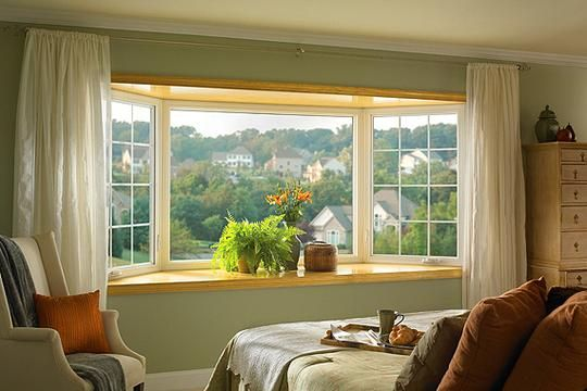 Evaluate Your House For A Master Suite Addition Bay Window Treatments Window Treatments Living Room Master Suite Addition