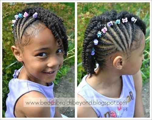 Tresse Africaine Pour Petite Fille nattes africaine pour