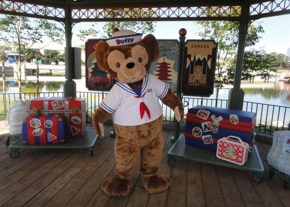 Duffy bear Epcot