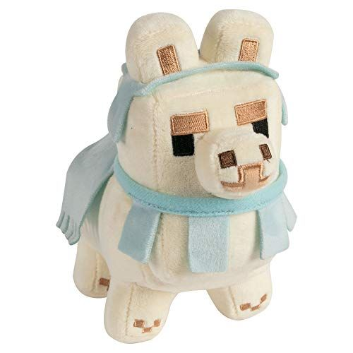 NEW Minecraft Adventure Llama Block Plush Toy Factory Doll Figure Mojang Game