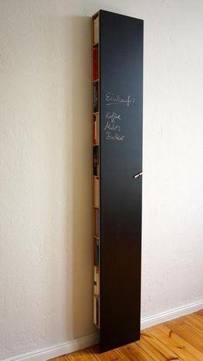 Das Bux Regal Von Tobias Solcher Berlin Ist Die Ideale Losung Fur Schmale Flure Und Uberall Wo Wenig Plat Selbstgemachte Inneneinrichtung Schmales Regal Regal
