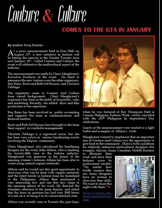 Page 16 of SMJ Magazine Fall Issue! GET INSPIRED, we hope you love it as much as we do! ♥