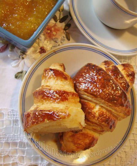 THE recette de croissants