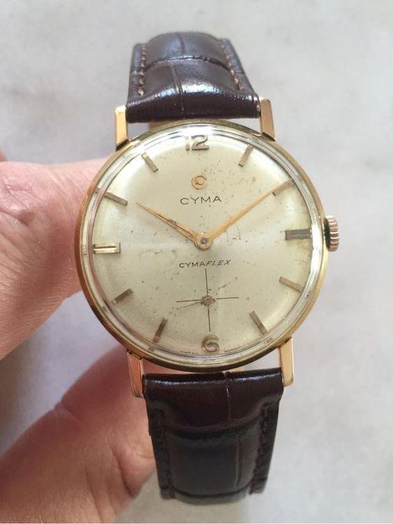 Reloj CYMA Cymaflex de segunda mano por 950 € en Santander en WALLAPOP