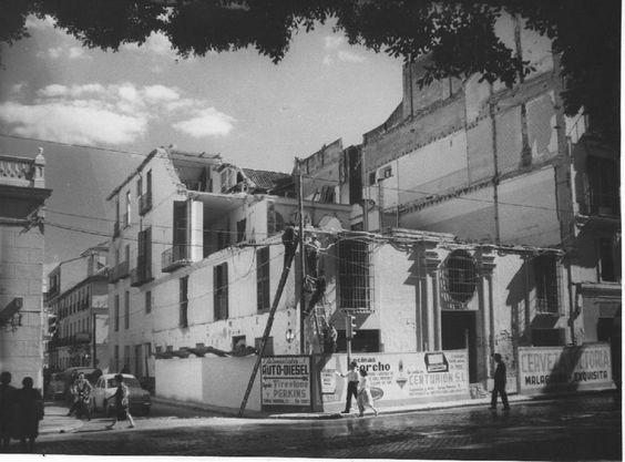 Antiguo edificio donde se ubica la actual Stella Maris