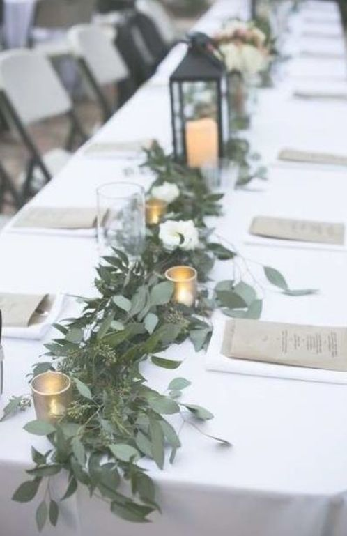 30 Trendy Wedding Table Settings Long Simple Wedding Long Table