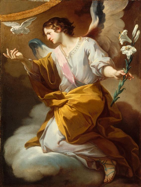 The Angel of the Annunciation // 18th C // Corrado Giaquinto // © Museum of Fine Arts, Budapest