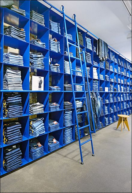 Blue Wall of Blue Jean