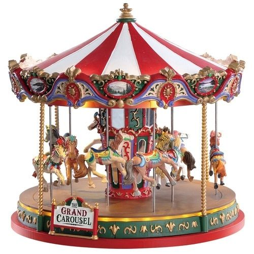 Christmas Carousel Recreation 2020 Lemax The Grand Carousel in 2020 | Carousel, Lemax, Christmas villages