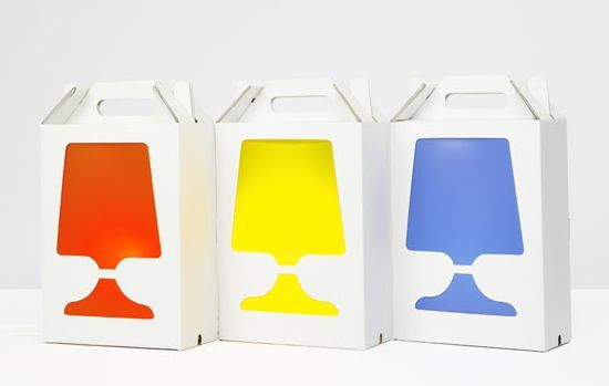 Flamp By Hiroshi Tsunoda: Lamp Or A Lamp Box? | Design: Light Bulb  Packaging | Pinterest | Packaging Design And Package Design