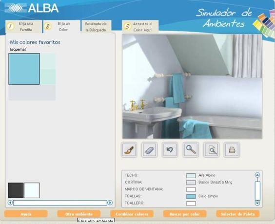 Programa para decorar simulando los ambientes