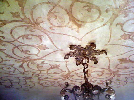 Ceiling Ornament - traditional - dining room - los angeles - D. Ward Designs