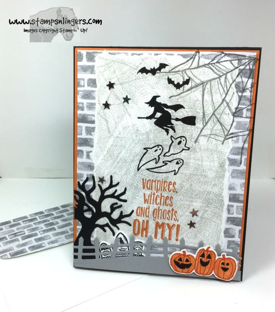Stamps-N-Lingers. Spooky Fun, Ghoulish Grunge, Suite Seasons and Halloween…