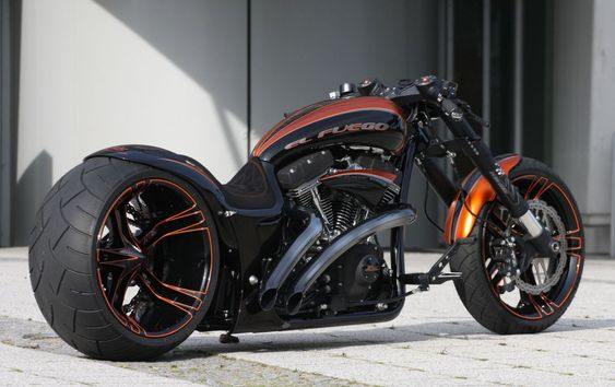 El Fuego | Dragster RS Bike |Original Thunderbike Customs | repinned by www.BlickeDeeler.de