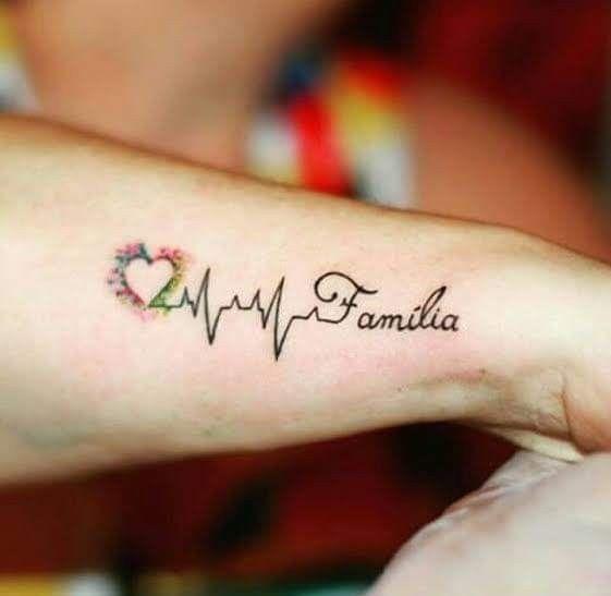 Pin De Viviana En Tato Tatuaje De Infinito Con Nombres Tatuaje Electrocardiograma Tatuajes