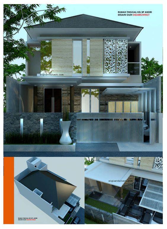 desain lantai 2 rumah minimalis