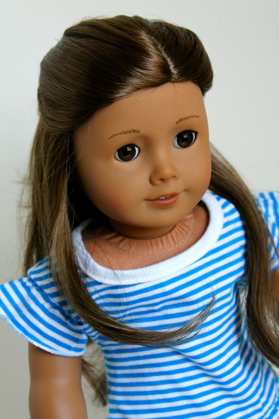 Sensational 1000 Images About American Girl Doll Hairstyles On Pinterest Short Hairstyles Gunalazisus