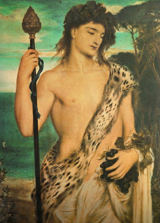 Dionysus - by Simeon Solomon: