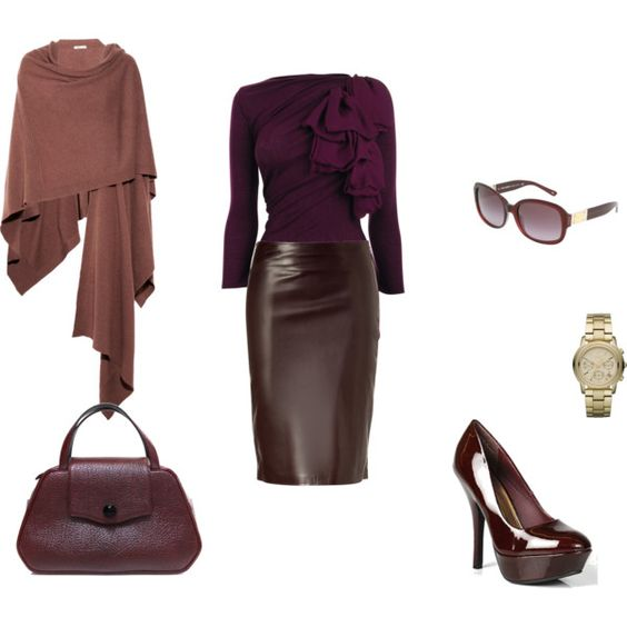 Leather pencil skirts, Skirts and Leather skirts on Pinterest