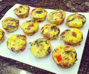 Italian-Style Omelet Muffins Recipe | Paleo inspired, real food