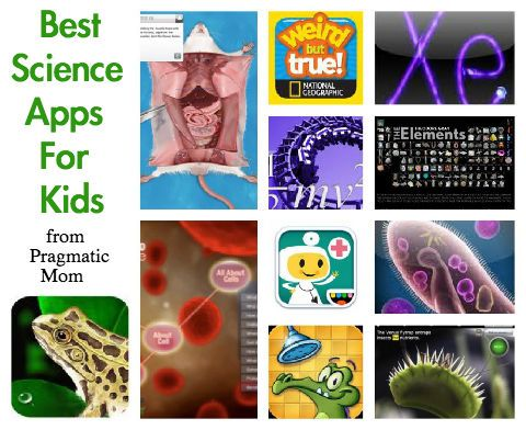 Our favorite science apps for kids tested out by my 2nd grade son :: PragmaticMom